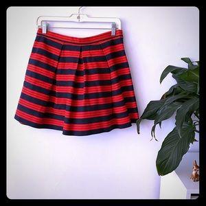 Gap nautical A-line miniskirt